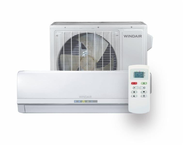 Climatiseur mural windair 18 000 btu h 230v inverter t for Climatiseur mural carrier 12000 btu